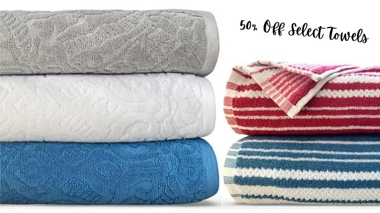 macy's bath towels