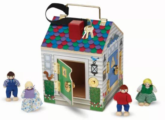 melissa and doug key house
