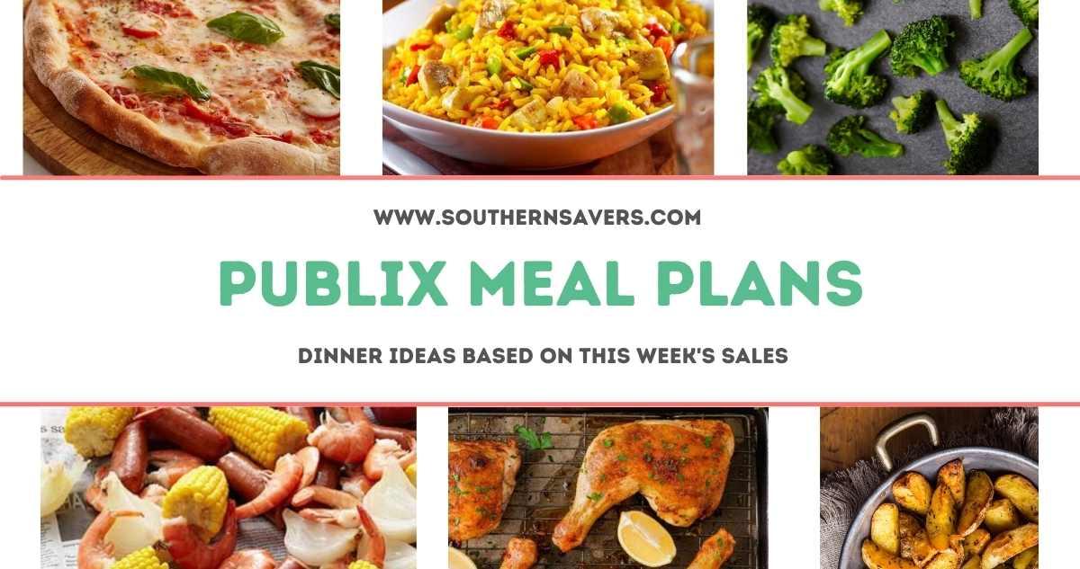 publix meal plans 4/14