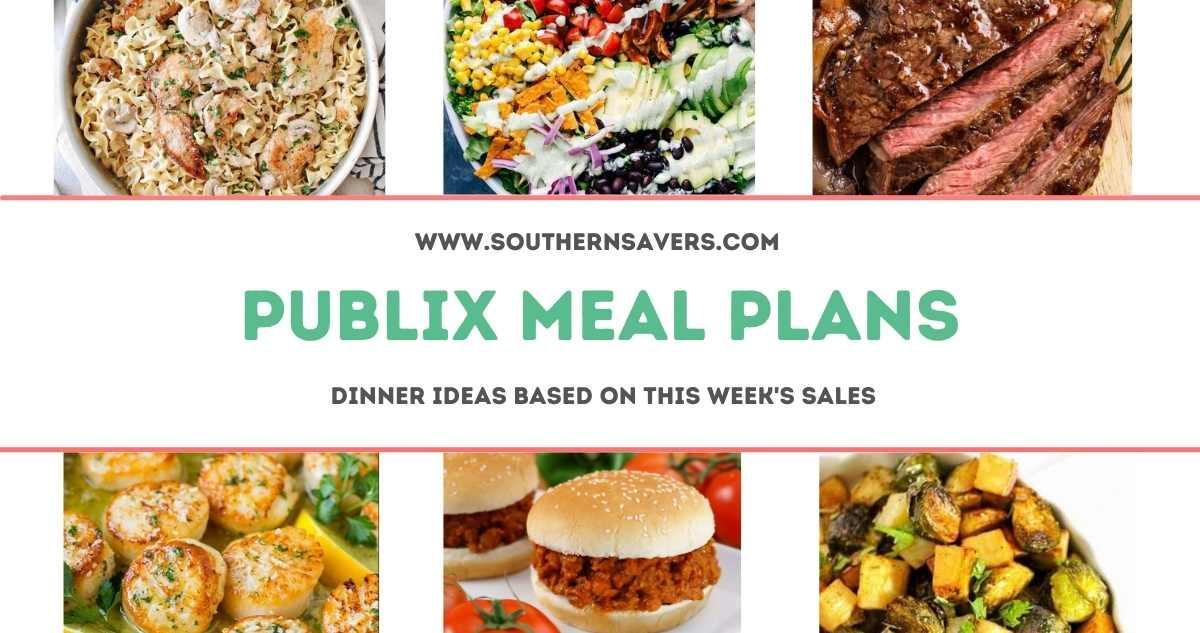 publix meal plans 4/21
