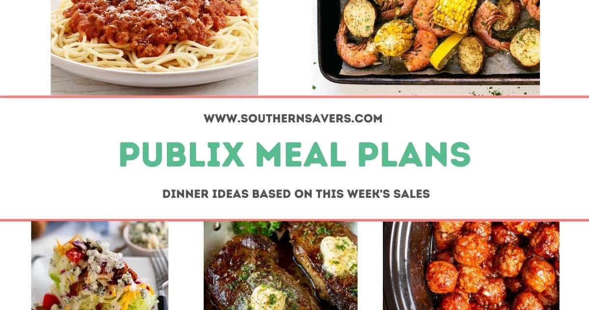 publix meal plans 4/28