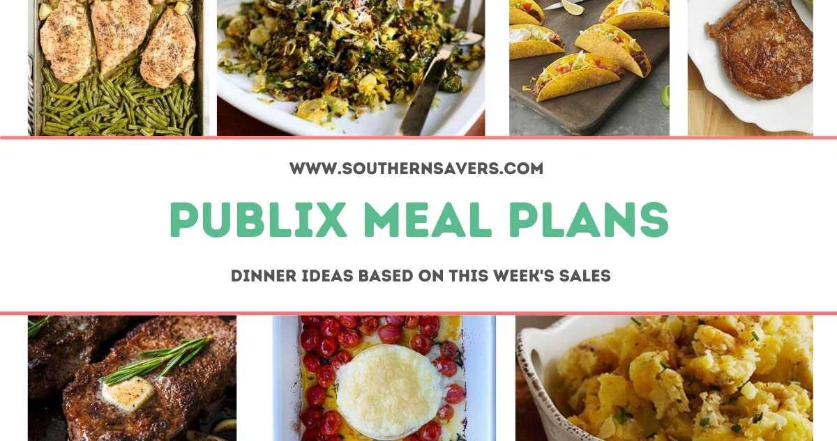 publix meal plans 4/7