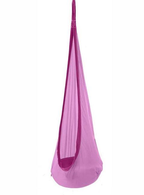 purple hanging chair