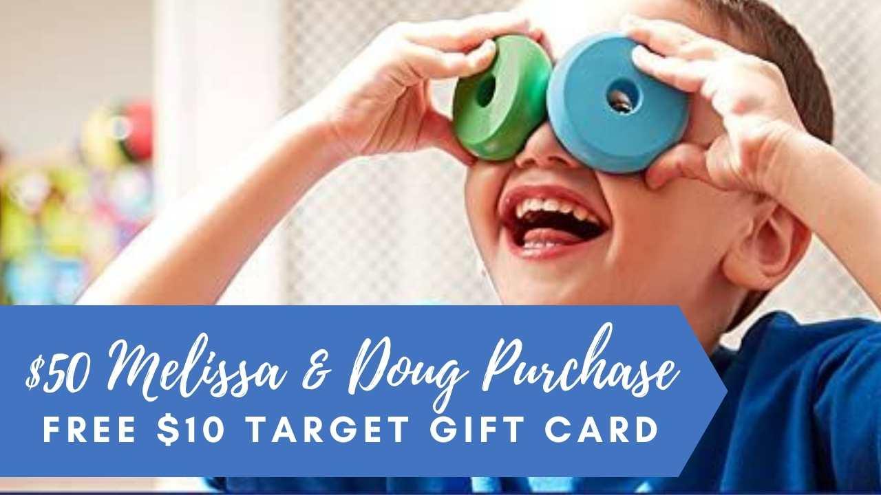 target melissa & doug purhcase