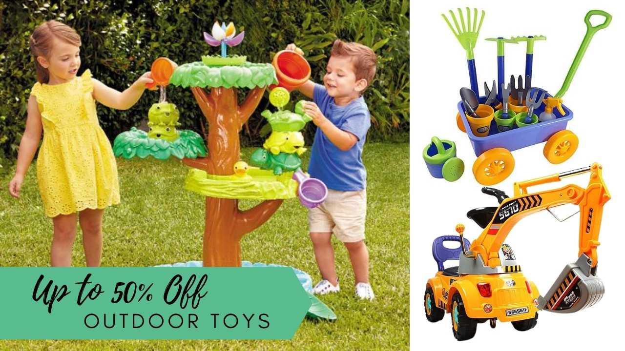 zulily outdoor toys