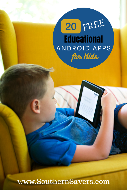 As a parent, you may want to find a way to make at least some of their screen time productive. Here are the top 20 free educational android apps for kids!