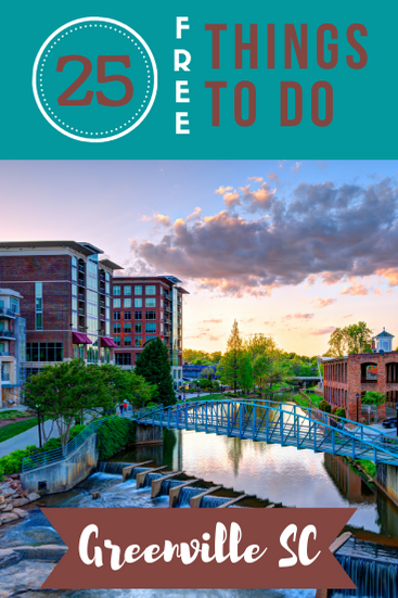 Greenville, South Carolina, is an amazing city to visit if you're in the Southeast. Here are 25 free things to do in Greenville!