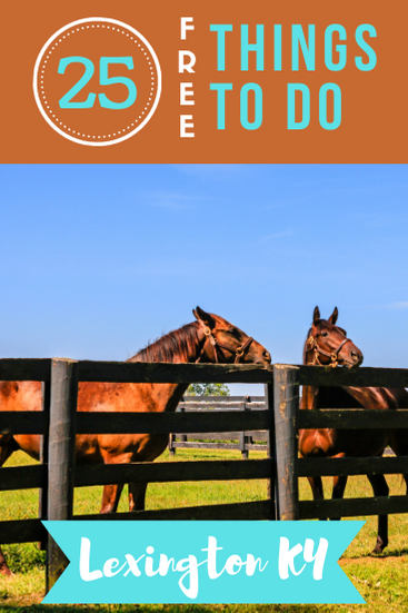 If you're heading to the horse racing capital of America, you will want to stick with your travel budget. Here are 25 free things to do in Lexington KY!