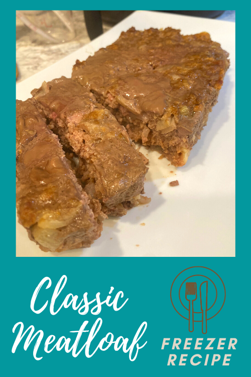 Get ahead on two dinners with this classic meatloaf freezer recipe! It only takes minutes to put these together and stick them in the freezer.