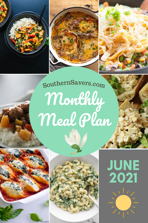 Summer is here and I've got a whole month's worth of meals for you! Here are 30 meals for you to enjoy as you try to beat the heat.