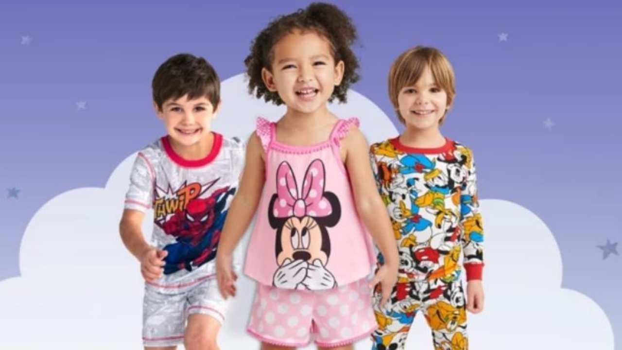 disney kids pajamas