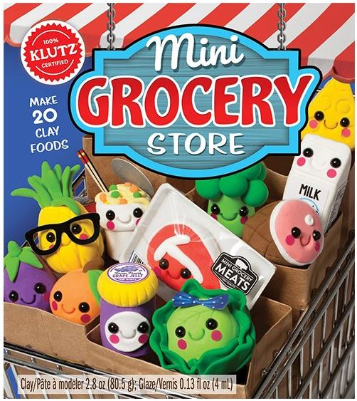 mini grocery store clay kit