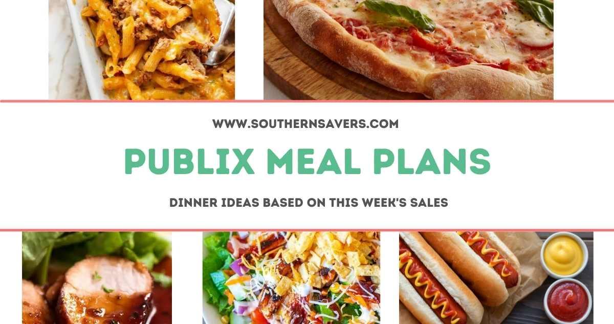 publix meal plans 5/12