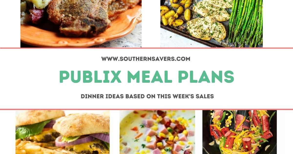 publix meal plans 5/19