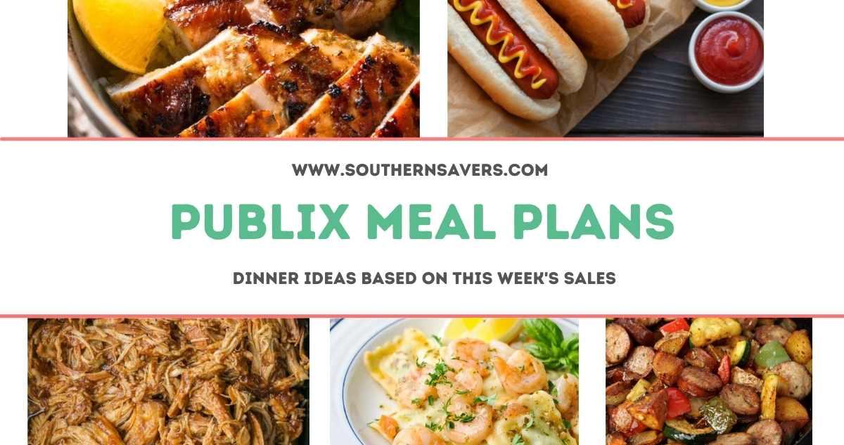 publix meal plans 5/26