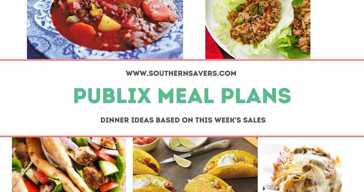 publix meal plans 6/2