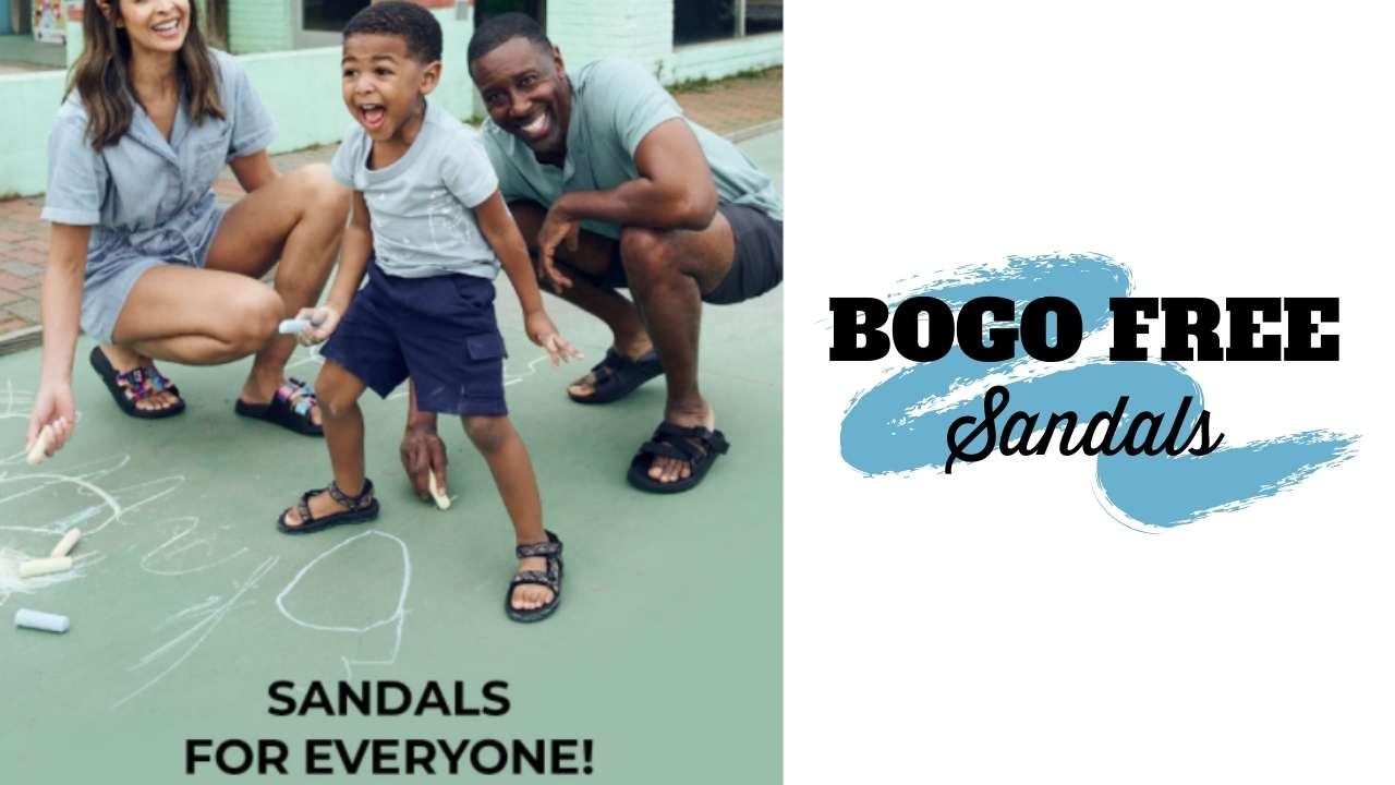 rack room bogo sandals