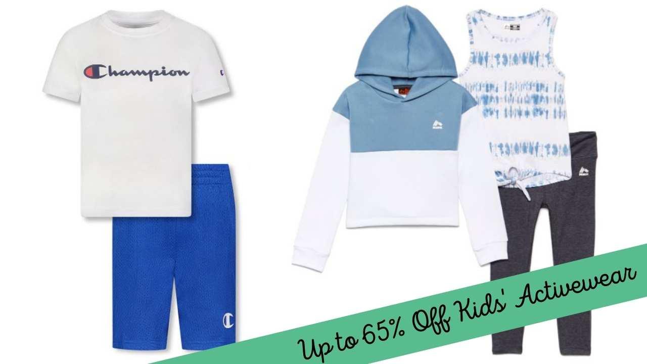 zulily kids activewear