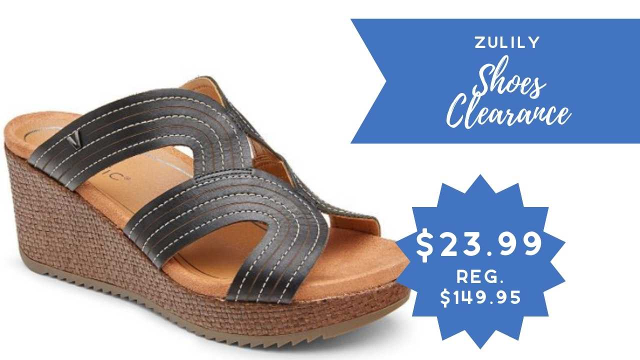 zulily shoes clearance