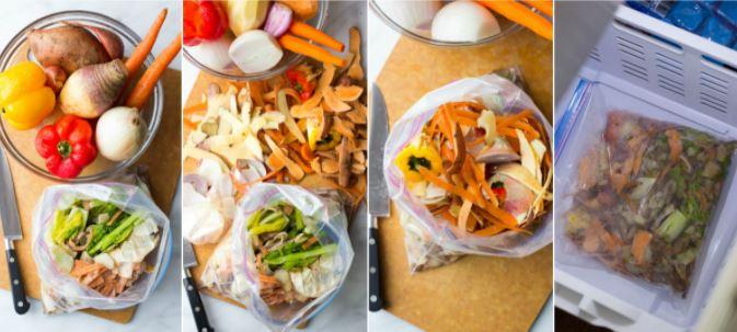 leftover veggies by little broken