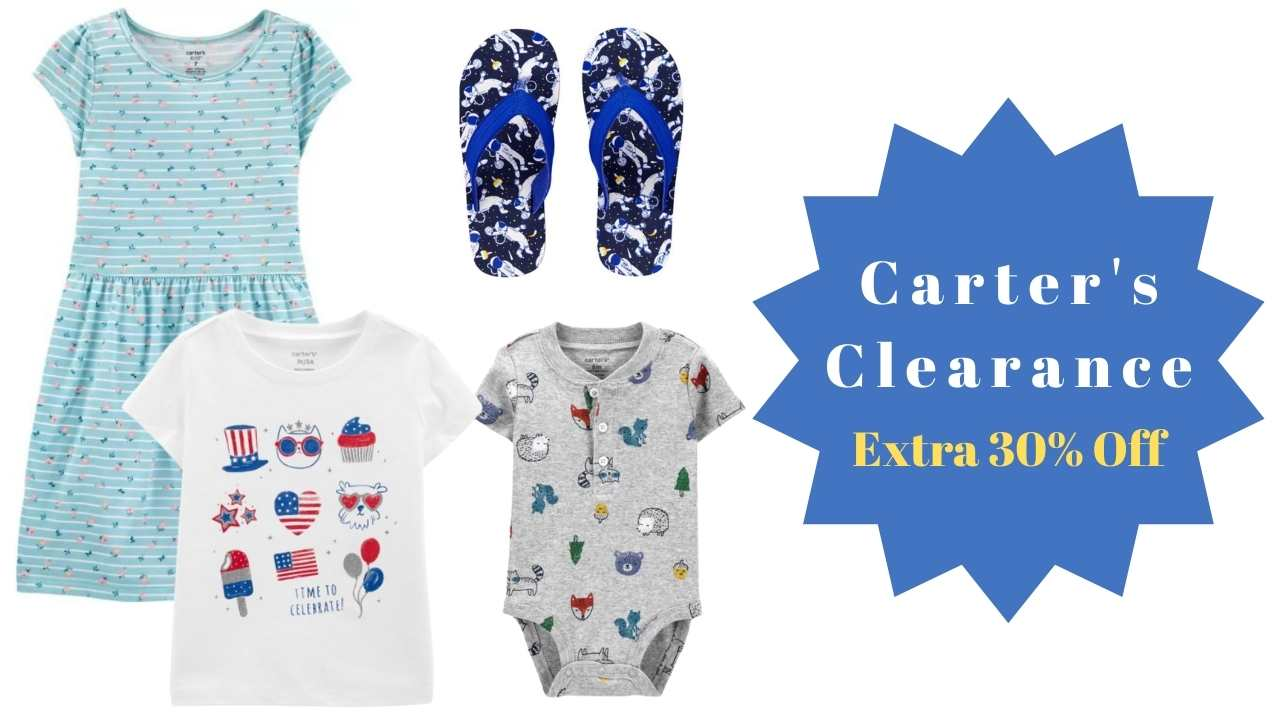 carter's clearance