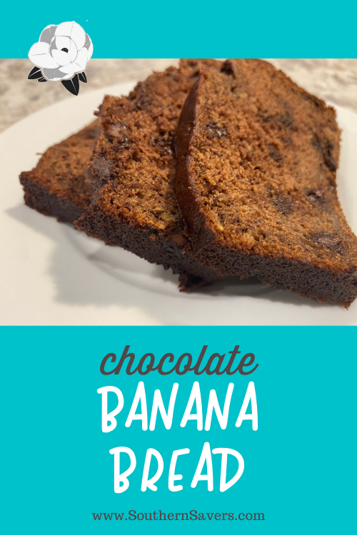 Banana bread is great, but take it to the next level with this chocolate banana bread recipe. Best of all, it makes two and stores great in the freezer!
