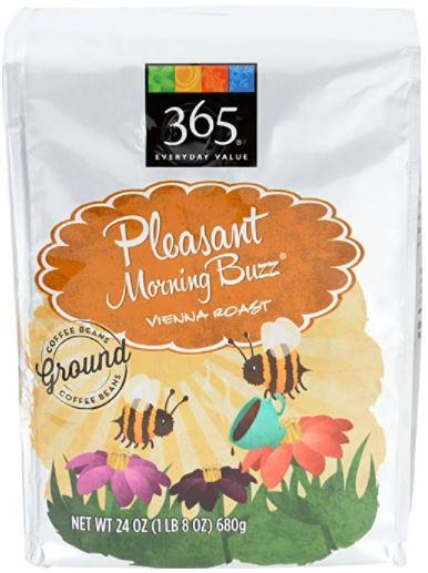 pleasant morning buzz ground coffee
