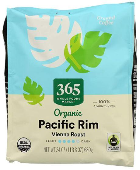 pacific rim organic coffee