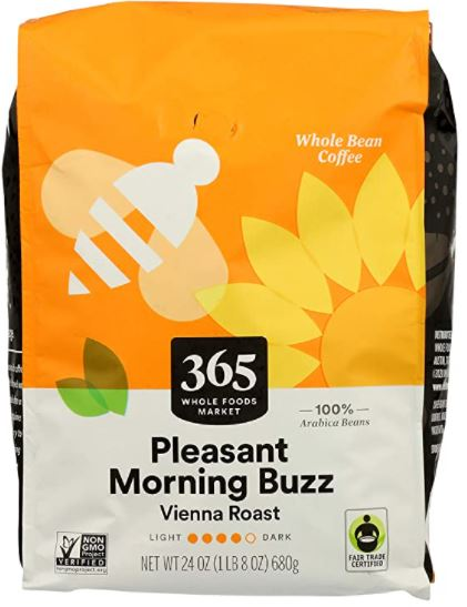 pleasant morning buzz coffee