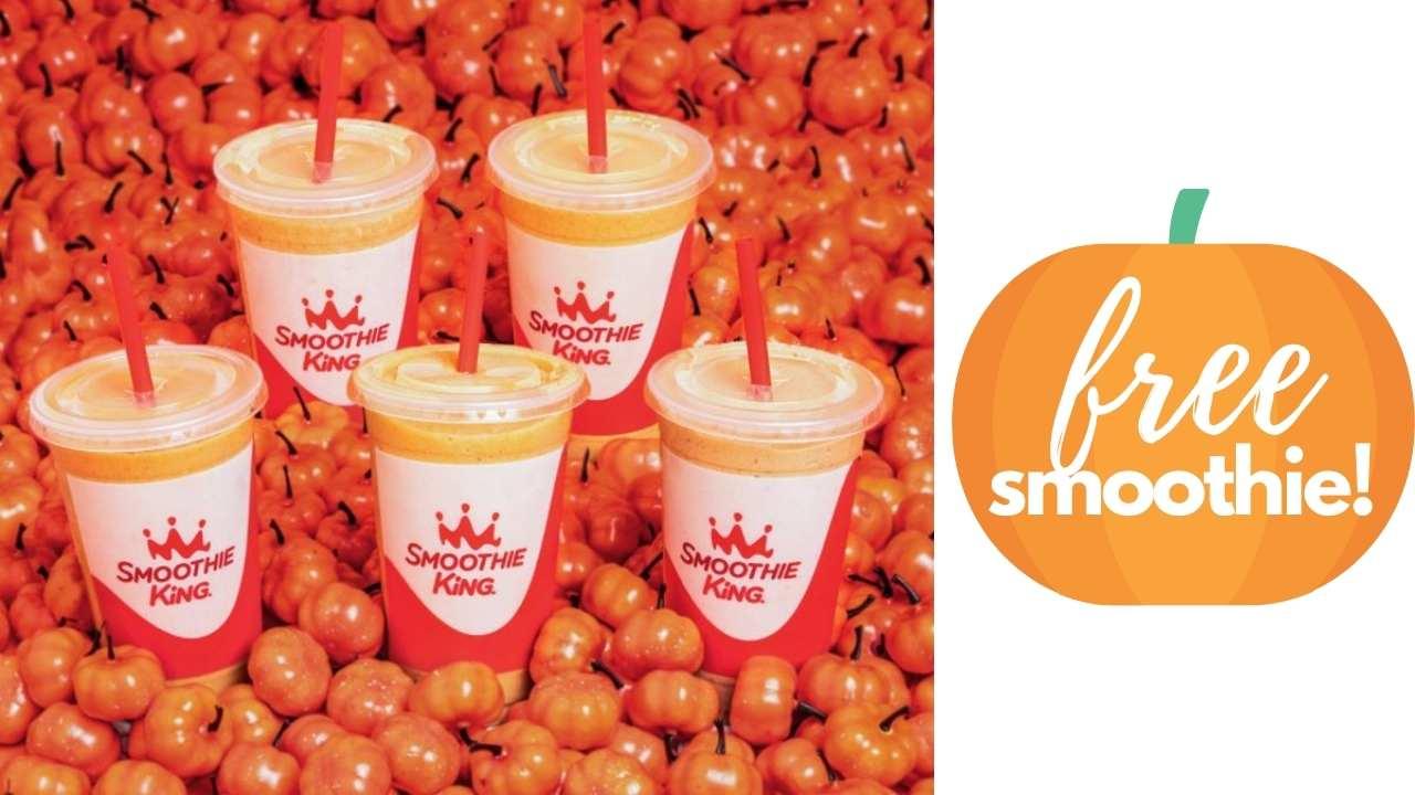 free pumpkin smoothie