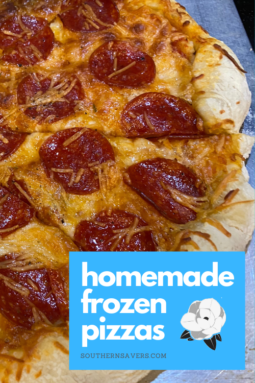 Control the ingredients and stock your freezer! These homemade frozen pizzas are delicious and taste totally fresh when you cook them.