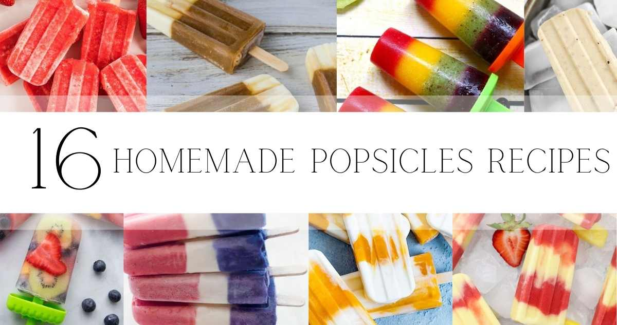 homemade popsicles recipes