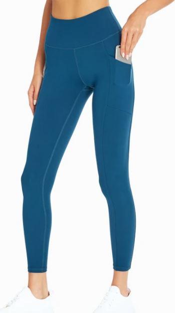 blue marika leggings