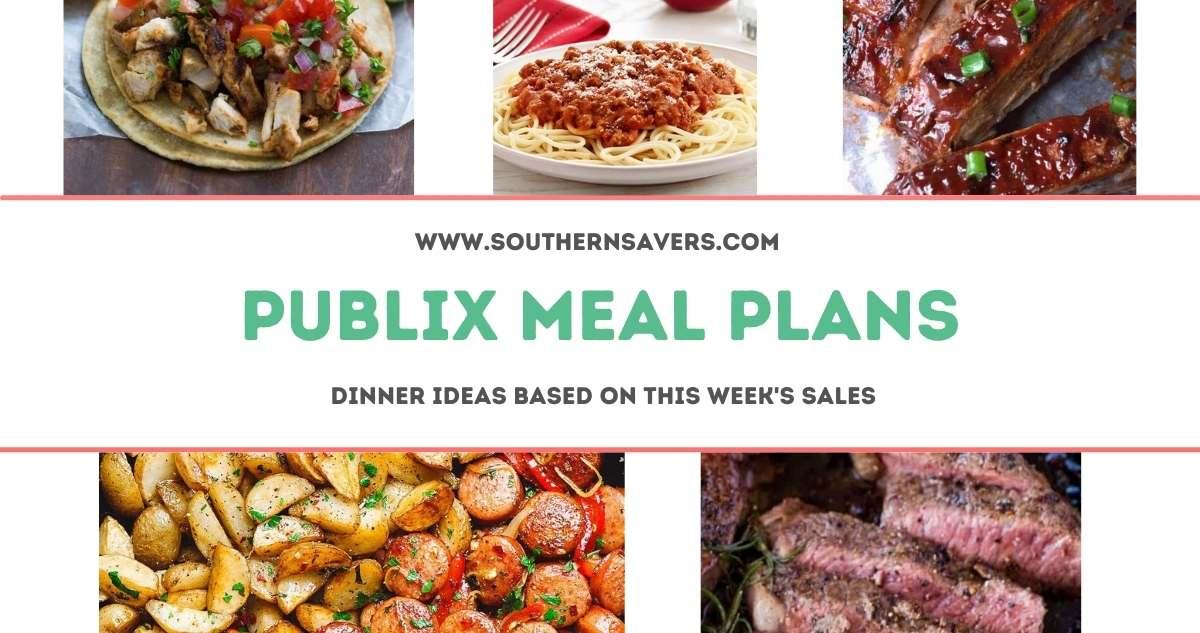 publix meal plans 6/16