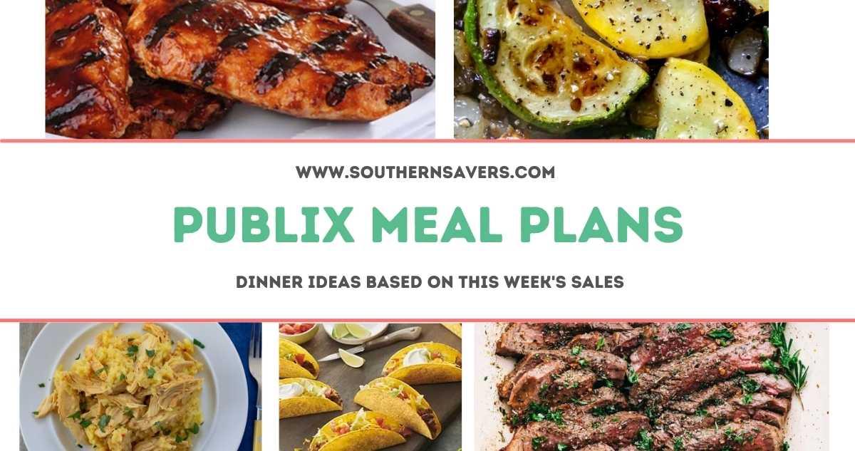 publix meal plans 6/23