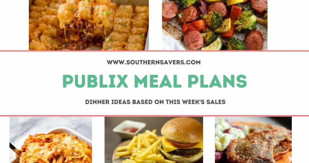 publix meal plans 6/30