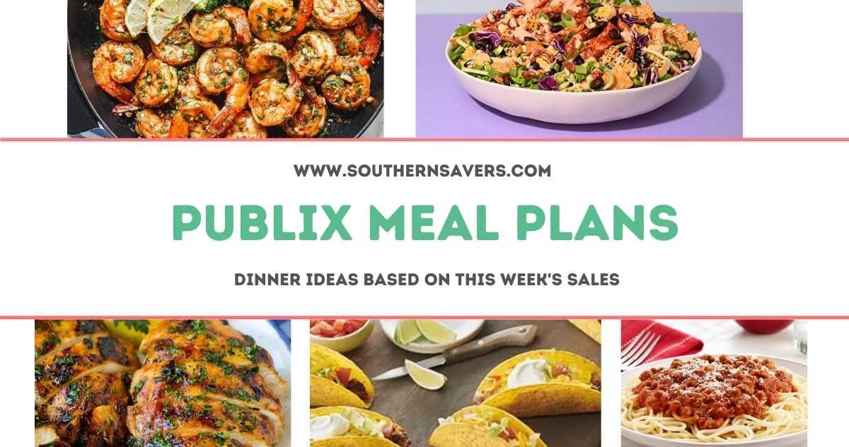 publix meal plans 6/9
