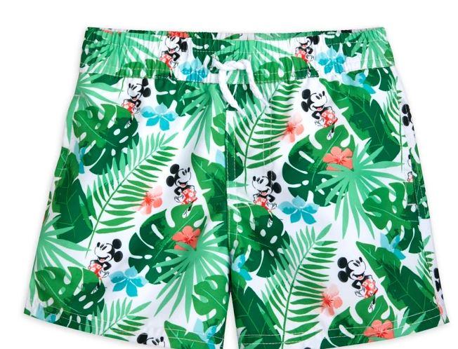 mickey swim trunks