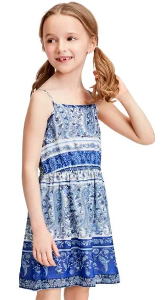 toddler blue dress