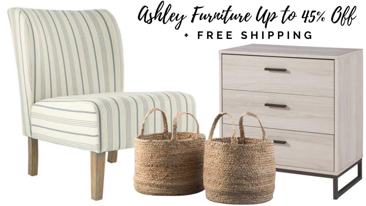 ashley furniture on zulily