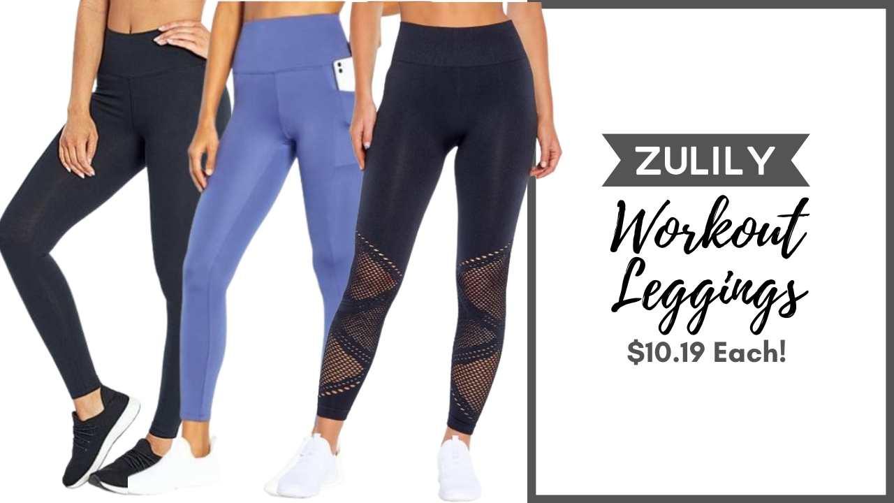 zulily workout leggings