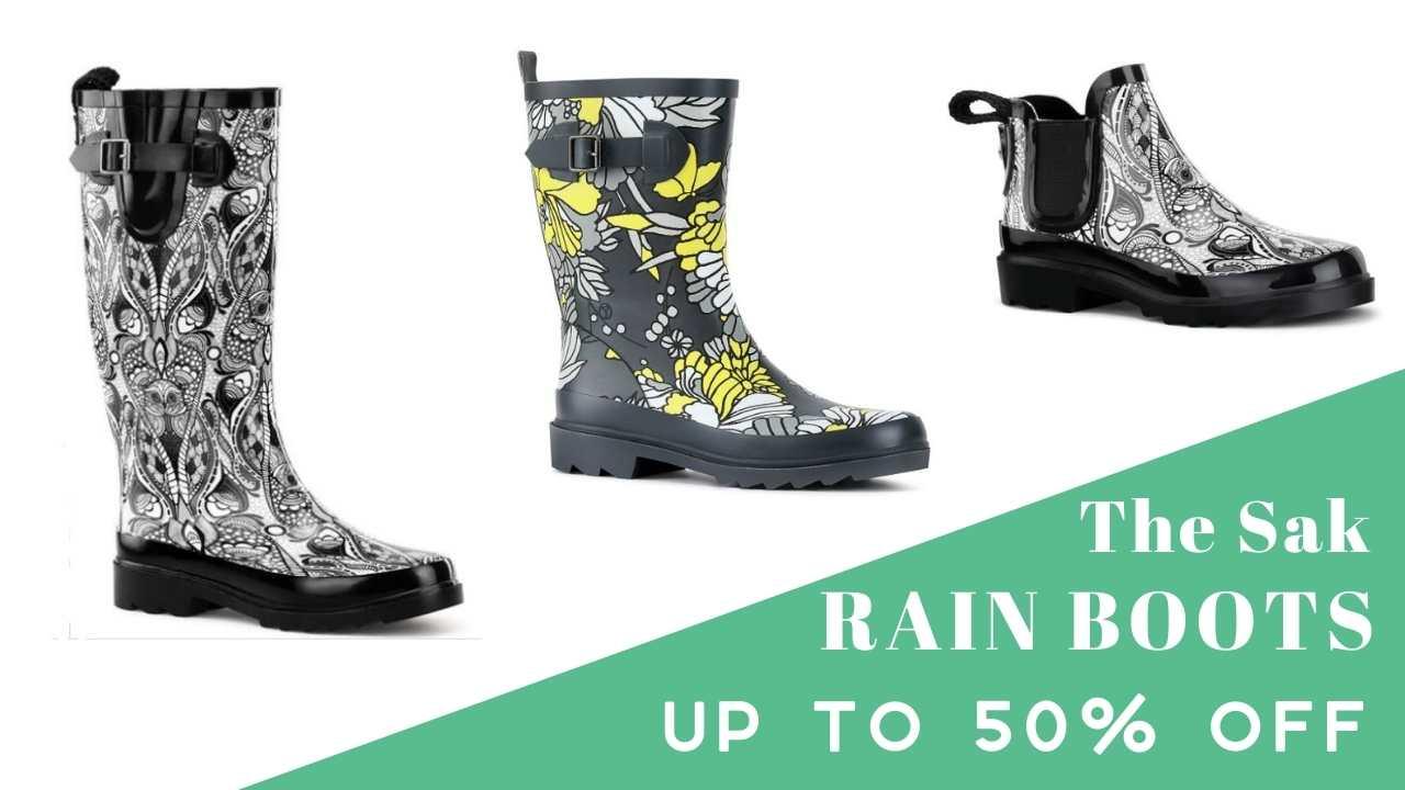 sakroots rain boots