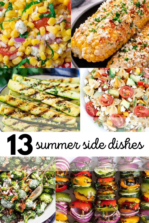 13 summer side dishes pinterest