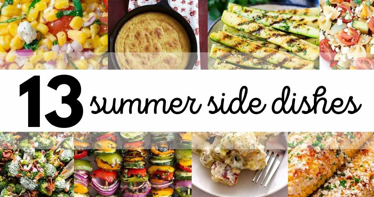 13 summer side dishes
