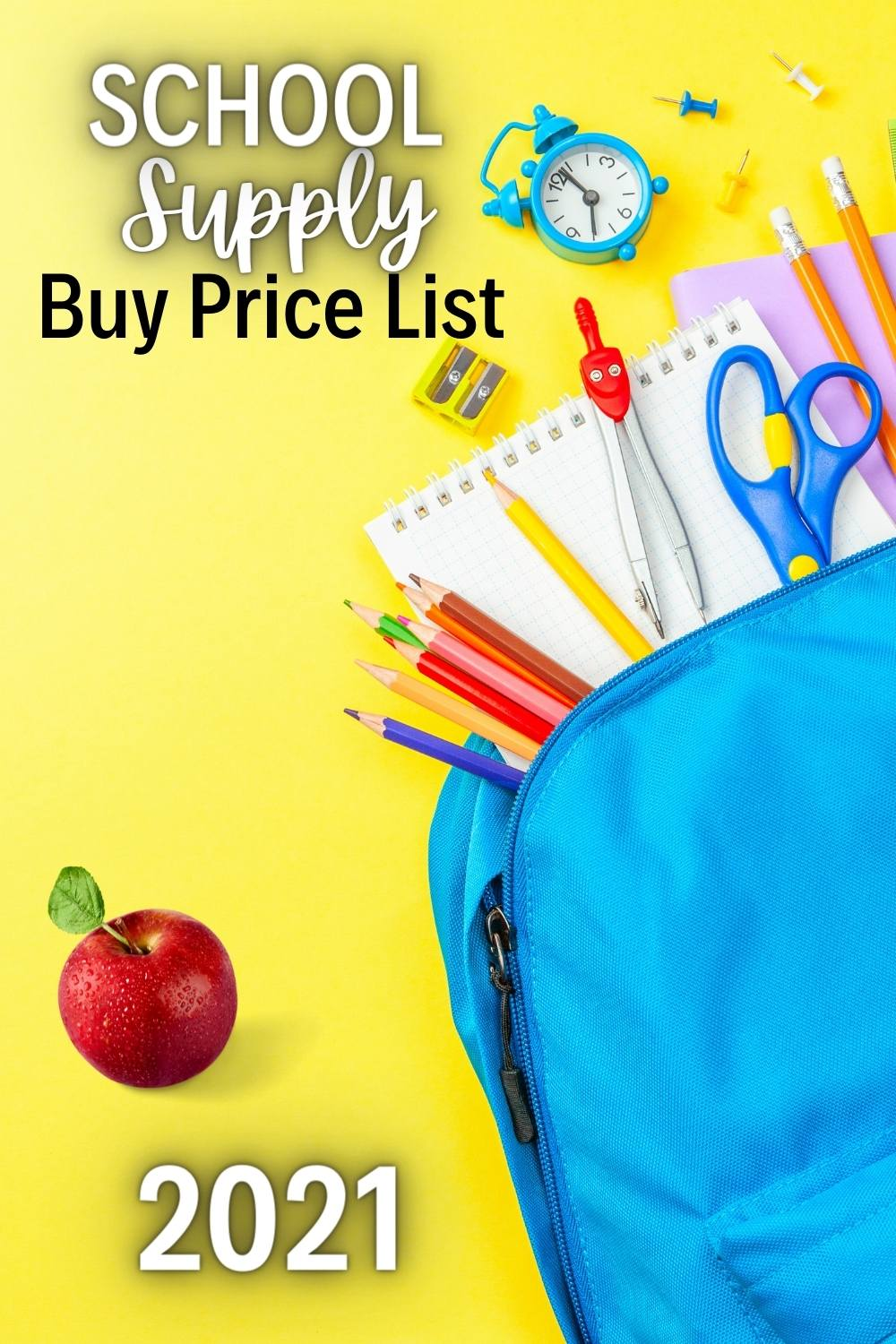 It's officially time to be the hunt for school supplies! This school supplies buy price list should help you make sure you get the best deal (and ignore the not-so-great ones)!