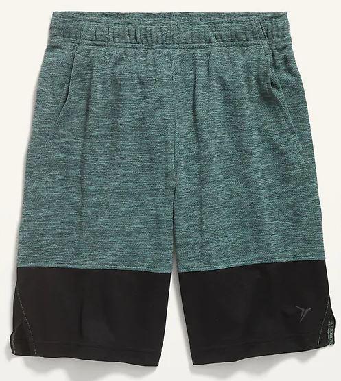 colorblocked shorts