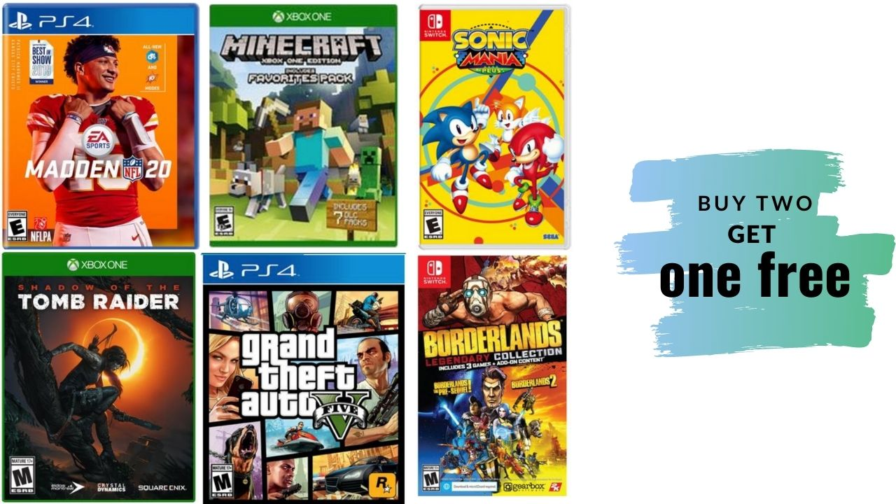 Buy 2 Get 1 Free Pre Owned Video Games At Gamestop Southern Savers