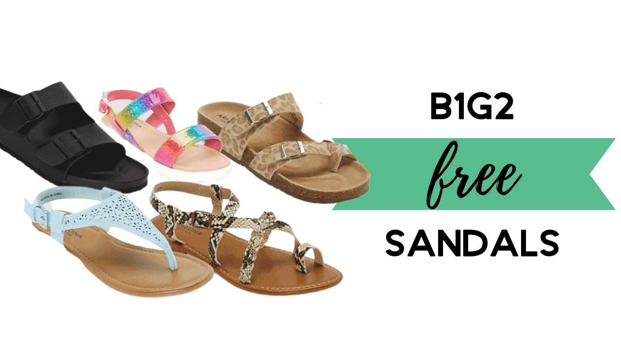 jcpenney sandals