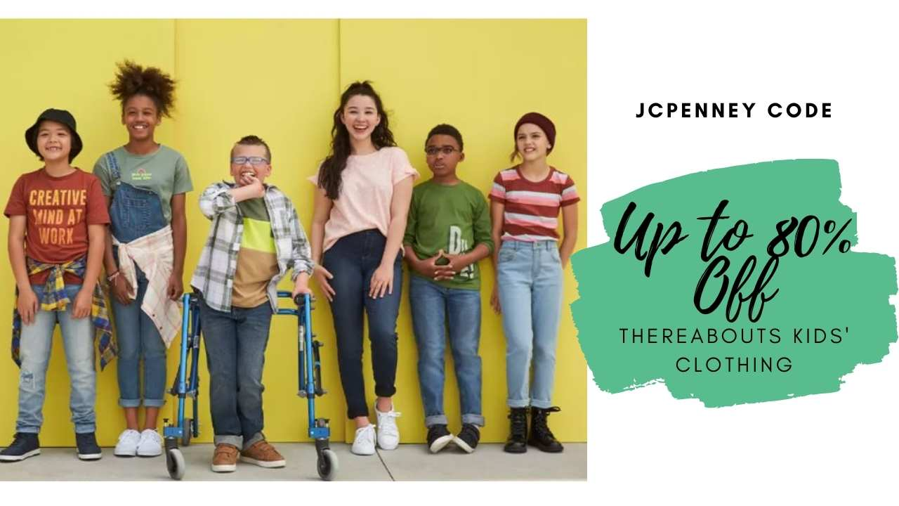 jcpenney thereabouts kids' clothing