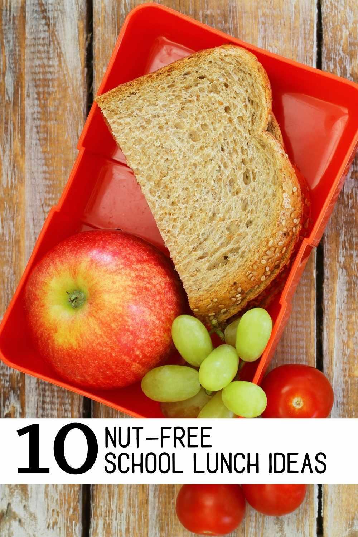10 Nut-Free School Lunch Ideas